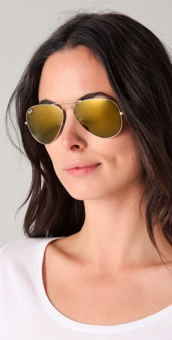 ray bans mirrored sunglasses  gallery. previously sold at: shopbop · women's mirrored sunglasses