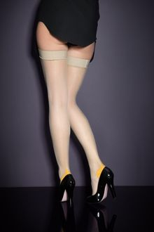 Agent Provocateur Seam Heel Stretch Hold Up - Lyst