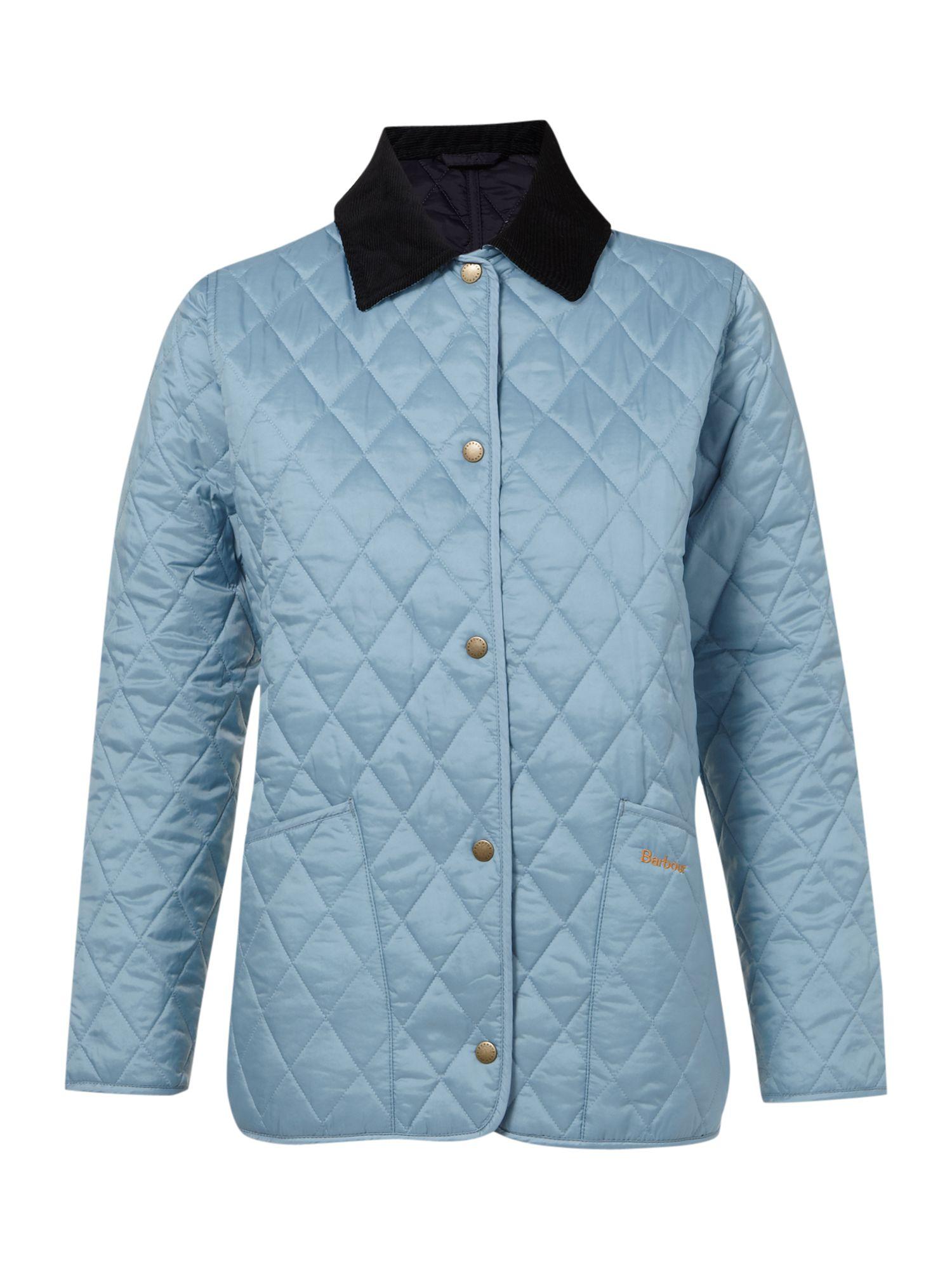 Blue barbour jacket womens