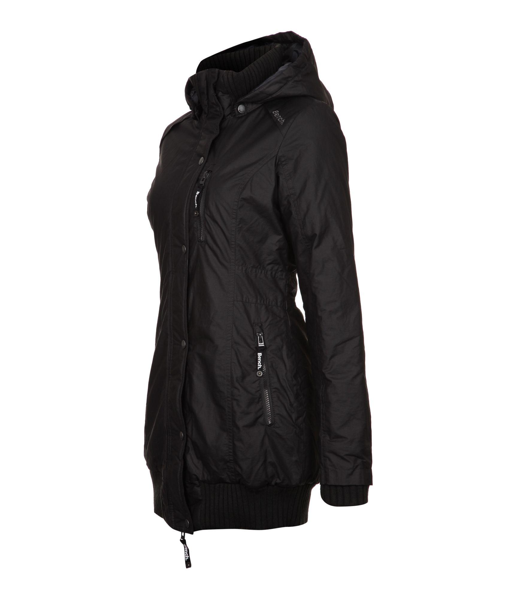 Bench Razzer Part - 33: Bench Razzer Long Length Jacket In Black | Lyst