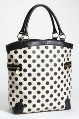 Betsey Johnson Spot On Tote - Lyst