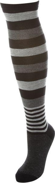 Calvin Klein Colour Blocked Sock in Black - Lyst