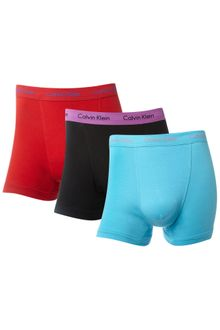 Calvin Klein 3 Pack Trunks - Lyst