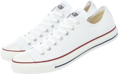 Converse Chuck Taylor All Star Low Top in White for Men - Lyst