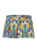 Current/elliott Multicolored Arrow Printed Boyfriend Short in Multicolor (multicolored) - Lyst