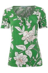 Dickins & Jones Ladies Short Sleeve Jersey Printed Top - Lyst