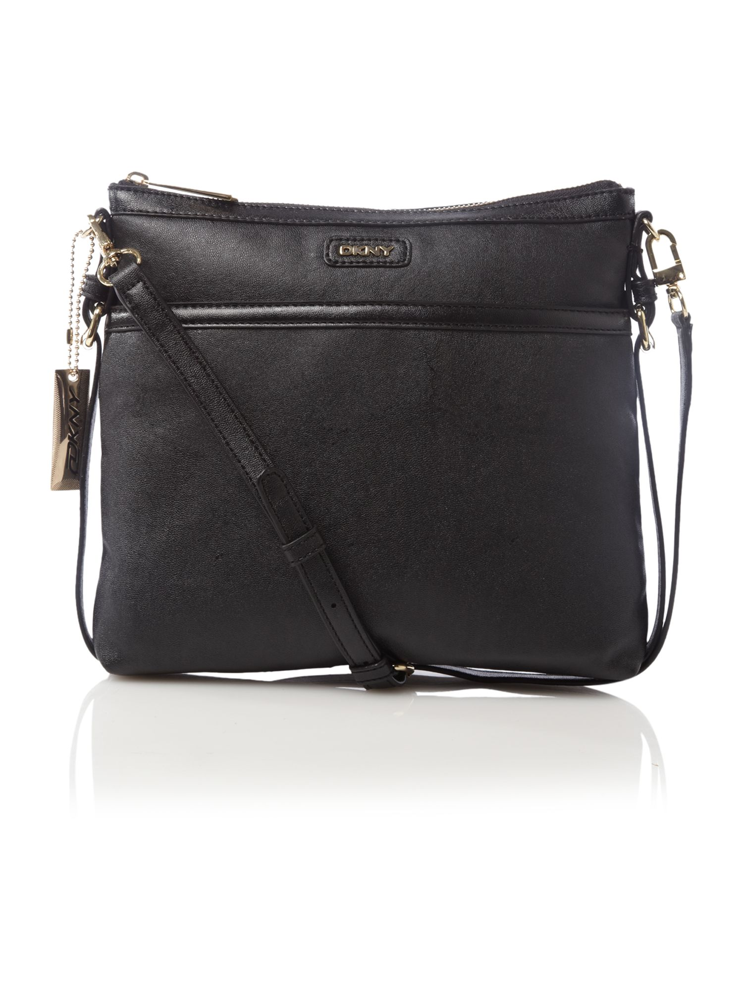 dkny vintage crossbody bag in black lyst