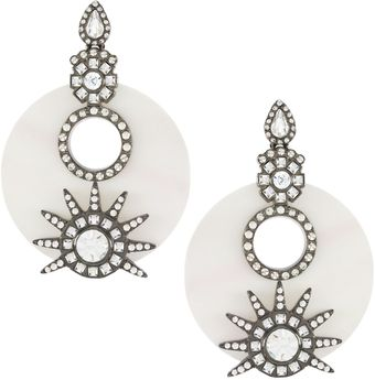 Earring Boutique Venus Chandelier Earrings - Lyst
