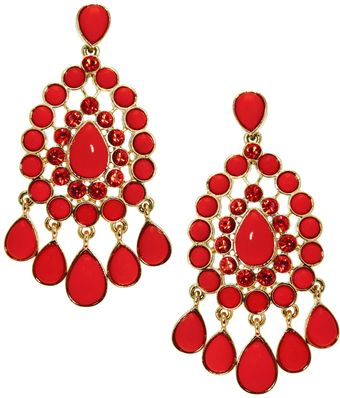 Earring Boutique Crystal Star Clipon Earrings - Lyst