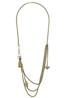 French Connection Cascading Drop Pendant Necklace - Lyst