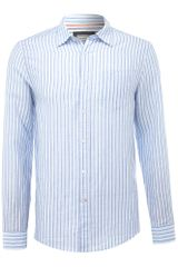 Howick Lombard Butchers Stripe Shirt - Lyst