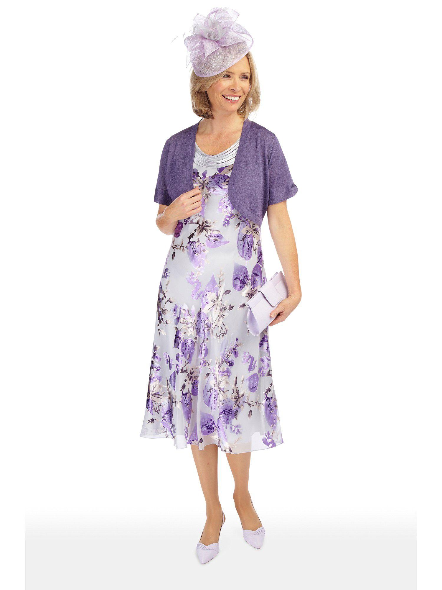 Jacques Vert Dark Lilac Fine Knit Bolero In Purple Lyst