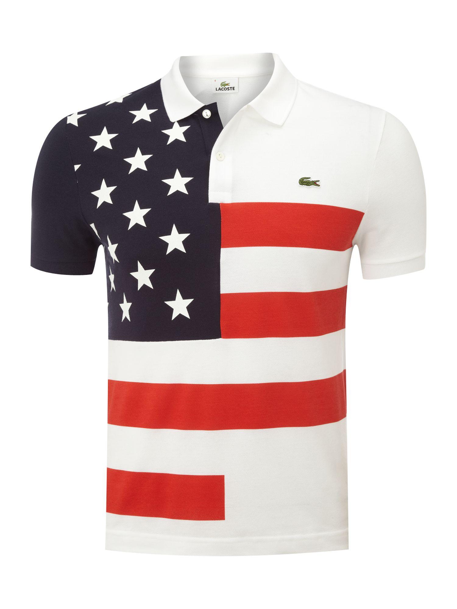 American Flag Womens Shirt
