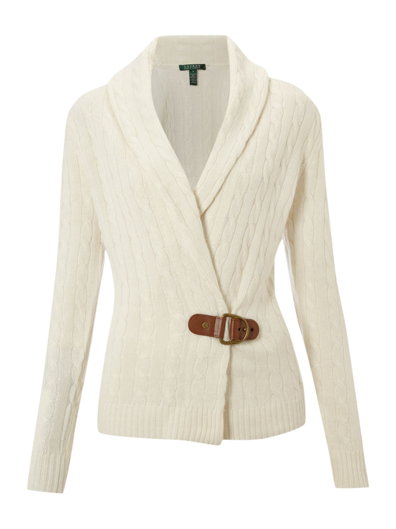 Lauren By Ralph Lauren Wrap Around Cardigan with Buckle in ...