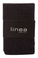 Linea 60 Den Ribbed Marl Opaque Tights in Gray (charcoal) - Lyst