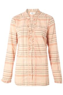 Linea Weekend 34 Sleeve Check Shirt - Lyst