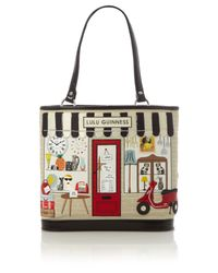 Lulu Guinness Large Edith Shop Tote Bag