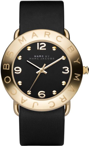 Marc By Marc Jacobs Amy in Black - Lyst