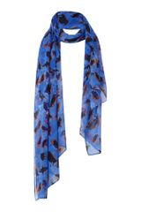 Mary Portas Scarf Silk Chatty Birds