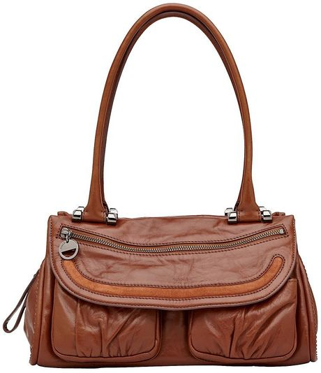 Mimco Prim Mini Day Bag in Brown (cognac) - Lyst