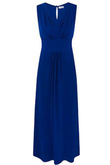 Minuet Petite Blue Maxi Dress - Lyst
