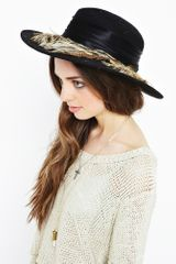Nasty Gal Feathered Friend Hat - Lyst