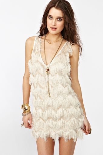 Nasty Gal Camilla Fringe Dress  - Lyst