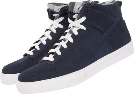 Nike High Top Dunk Ac in Blue for Men (navy) - Lyst