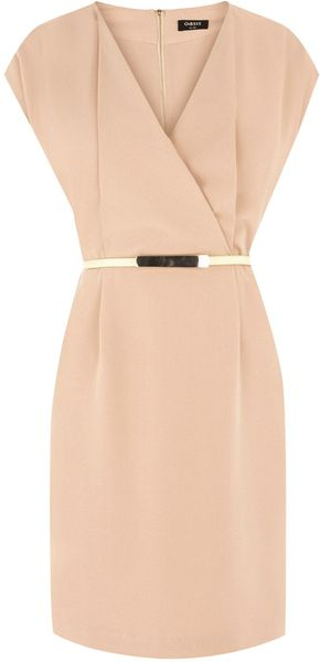 Oasis Fluro Belted Wrap Shift - Lyst