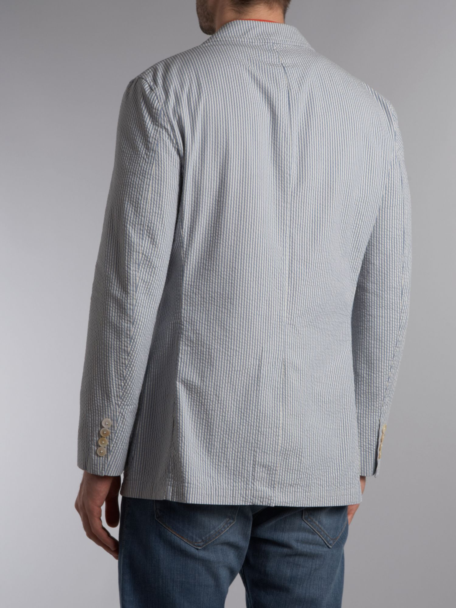 Mens Long Sleeve Seersucker Shirts