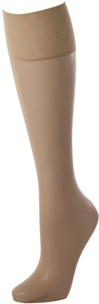 Pretty Polly 8d Knee Highs 2pp - Lyst