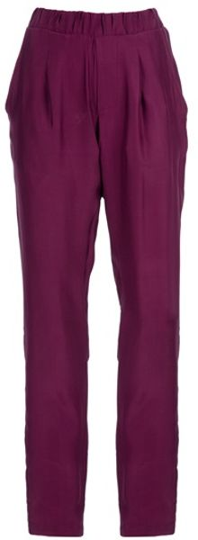 Societe Anonyme Jogger Trouser in Purple (magenta)