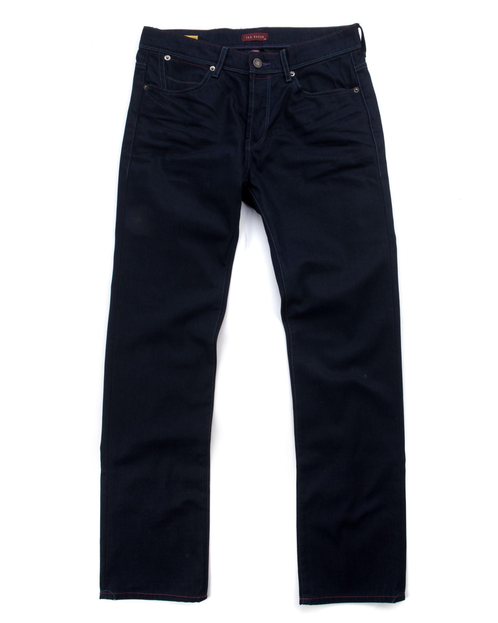 Ted Baker Slim Fit Denim Jeans In Blue For Men Lyst