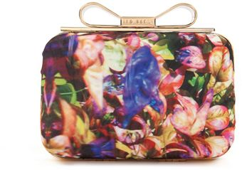 Ted Baker Bloomy Cutch - Lyst