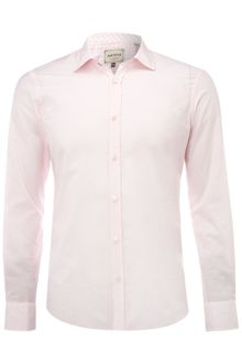 Ted Baker Long Sleeved Linen Satin Formal Shirt - Lyst