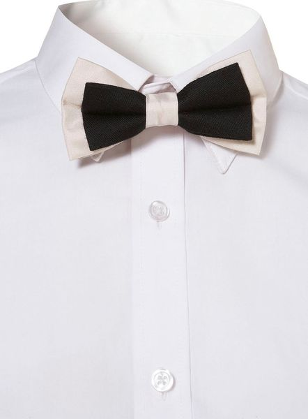 Topman Blackwhite Contrast Bow Tie in Black for Men - Lyst