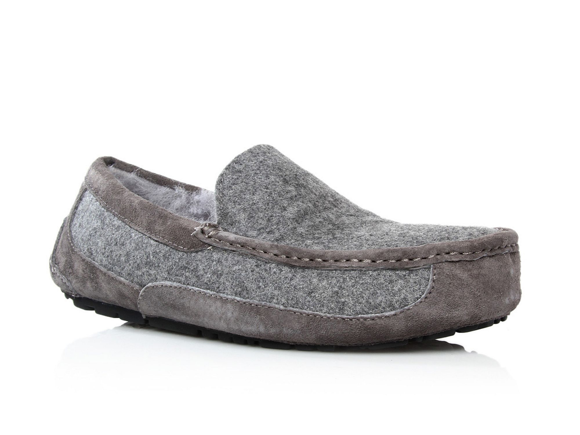 ugg gray slippers