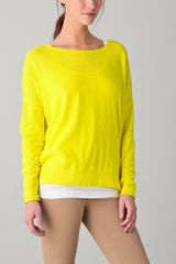 Vince Long Sleeve Sweater - Lyst