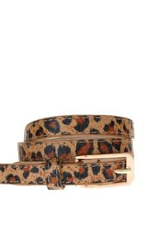 ASOS Collection Asos Leopard Print Skinny Belt - Lyst