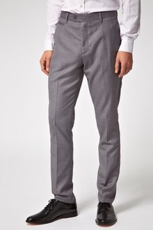 Asos Slim Fit Smart Trousers - Lyst