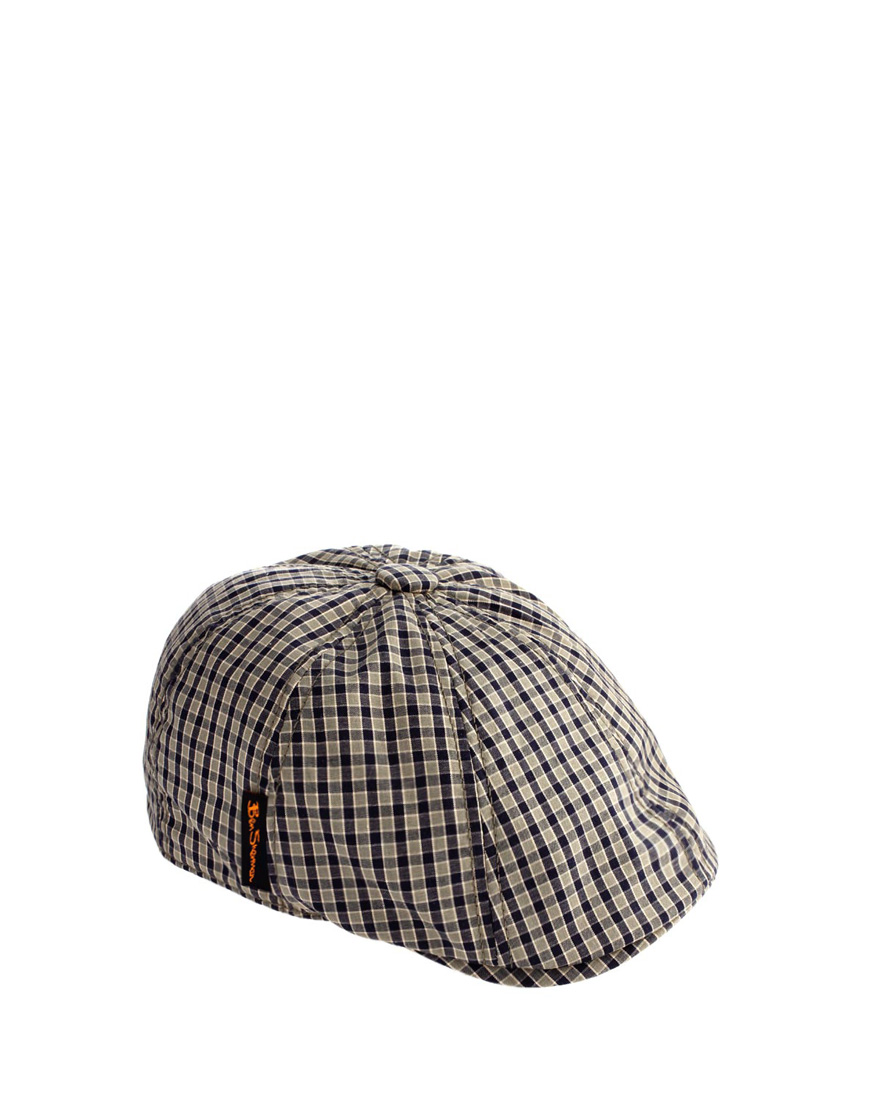 2cf6c0b34e03b Ben Sherman Ben Sherman Flat Cap in Gray for Men - Lyst