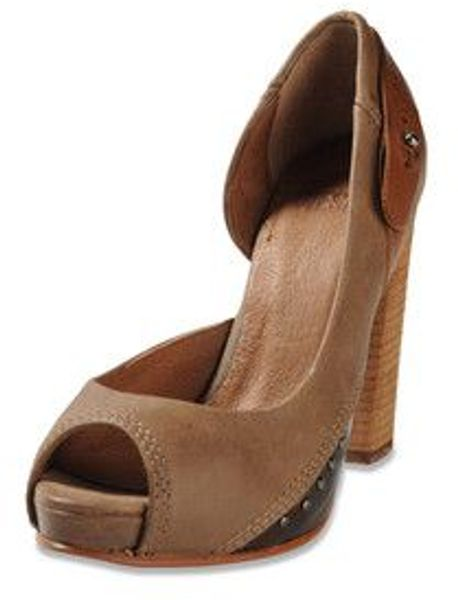 Diesel Cuir Desir Plaisir Shoes in Brown (toffee) - Lyst
