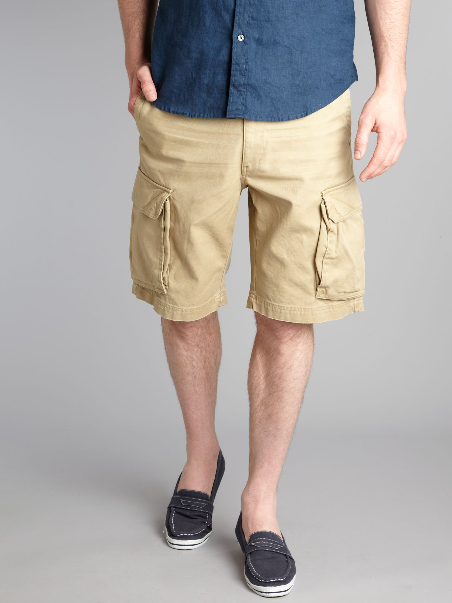 Dockers Cargo Shorts in Natural for Men | Lyst