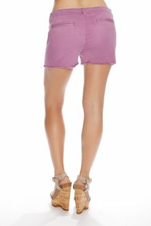 Genetic Denim Jemma Prep Short Lilac - Lyst