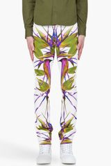 Givenchy Birds Of Paradise Jeans - Lyst