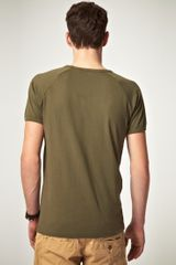 Diesel Tjeb Tshirt in Green for Men - Lyst