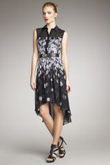Jason Wu Petal Print Shirt Dress - Lyst