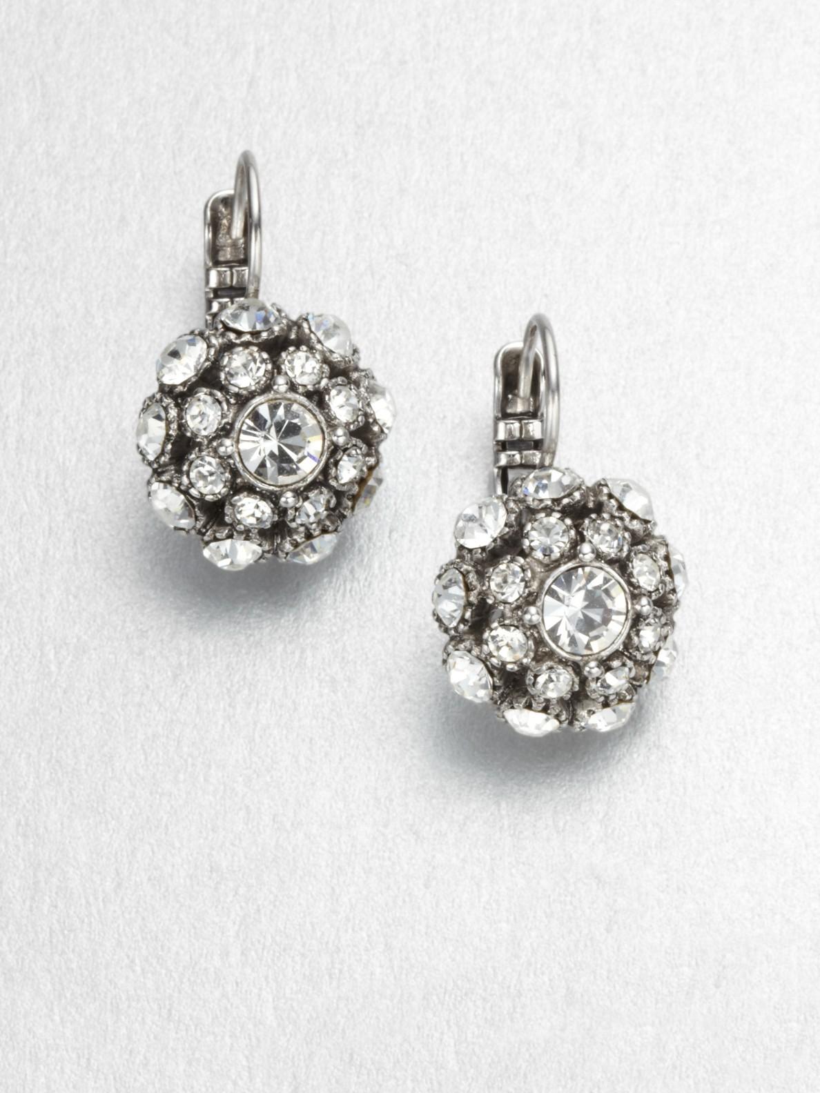 Kate Spade Lady Marmalade Ball Leverback Earrings