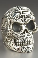 King Baby Studio Skull Ring - Lyst