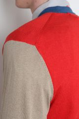 Marc Jacobs  Silk Cotton Cashmere Cardigan in Beige for Men (red) - Lyst